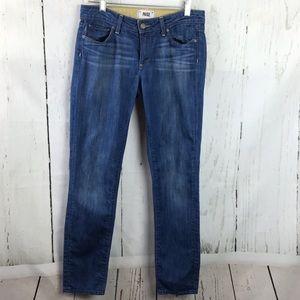 Paige Skyline Ankle Peg Crop Jeans